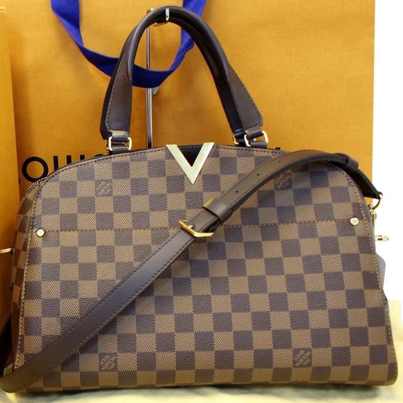 9bbc8cafae1 Louis Vuitton Bags | Kensington Bowling Damier Ebene Bag | Poshmark